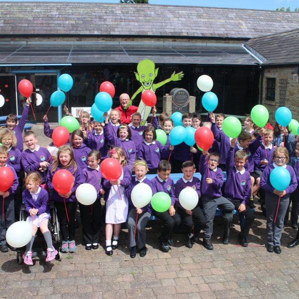 Ysgol Bro Dyfrdwy - 75,000th Visitor